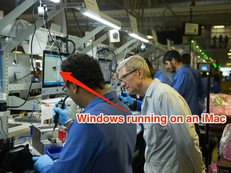 apple products are built in factories that run on microsoft windows - Apple'ın Eski Çalışanlarından Apple ile İlgili Bilmedikleriniz